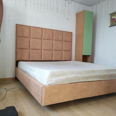 Двуспальные кровати - Кыргызстан: Кровати двухспальные односпальные в наличии и на заказ. Большой выбор