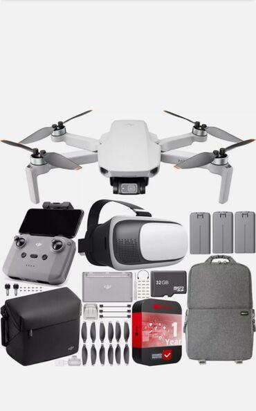 DJI Mini 2 Drone 4K Quadcopter Fly More Combo Полностью, всё что на фо