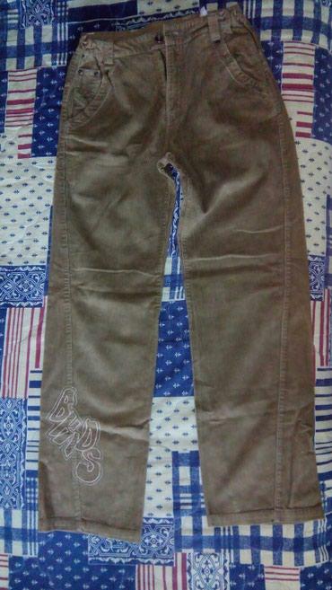 Pantalone od somota, veličina 12, nove.Preuzimanje lično ili post - Beograd