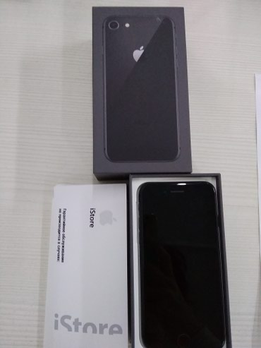 IPhone 8 Space Gray 64gb почти новый айфон в Бишкек