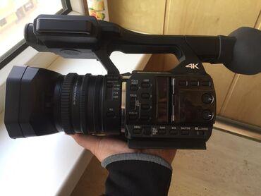 Новая Профессиональная Видеокамера Panasonic. Съемка в формате 4К. Сос