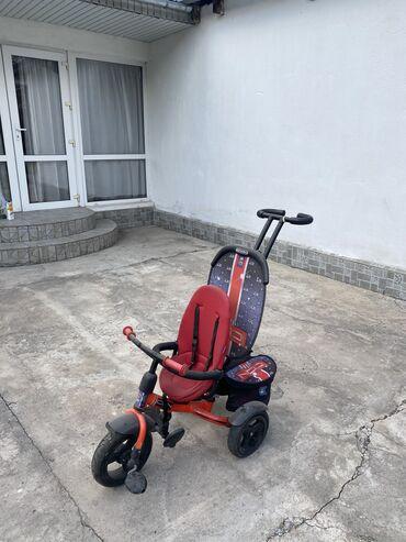Велосипед детский трёхколёсный. Съемный все при себе . Зонт ручки
