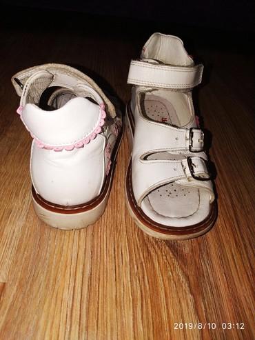 сандалии 27 размер в Кыргызстан: Продаю кожаные ортопедические сандали, размер 27,по стельке 20 см,в оч