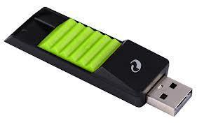 флешка-usb в Кыргызстан: Флешка Silicon Power 4GB Touch 610 Flash USB 2.0 Green. На что только