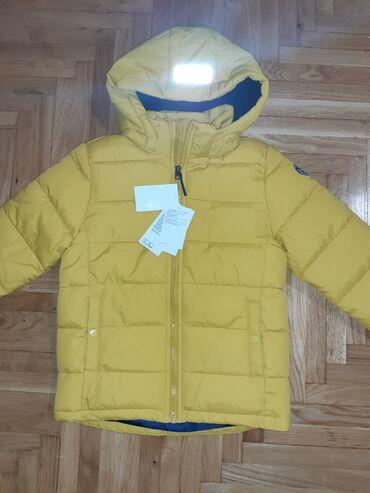NOVO!!!! Zuta jakna sa etiketom,kupljena u H&M- u, velicina 122