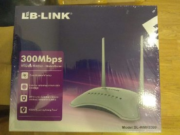 Lb-Link modemlər 2 lı antena 4portluTeze 300Mbps sürətli Ev telefonuna