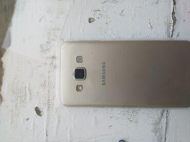 Elektronika Şəmkirda: İşlənmiş Samsung Galaxy A3 16 GB qızılı