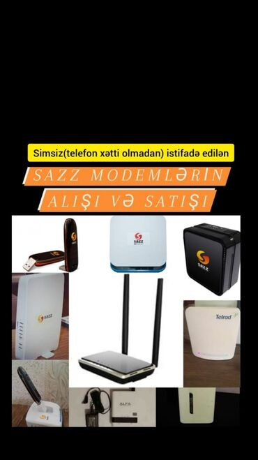 sazz - Azərbaycan: Sazz aliram lte wimax