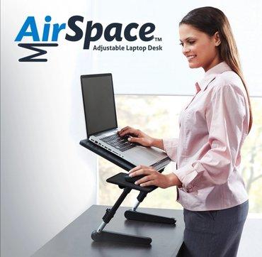 Podesivi sto za Lap Top sa kulerom Air Space  Slopivi Air Space stočić