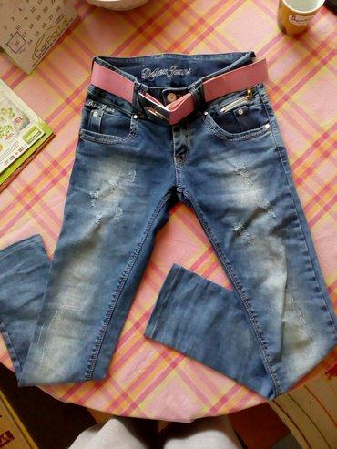 Veličina 14 NOVE Deter Jeans sa likrom dužina nogavice 67cm sa - Vrbas
