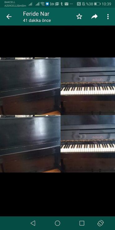 Piano və fortepianolar - Azərbaycan: Pianino Oktava 110 manat. Bileceride (Feride nar)