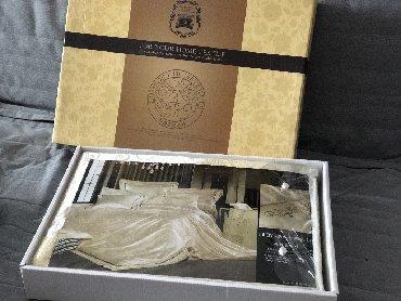 шелковое постельное белье интернет магазин в Кыргызстан: 2х спальное шёлковое постельное бельё. Новый комплект, отличного качес
