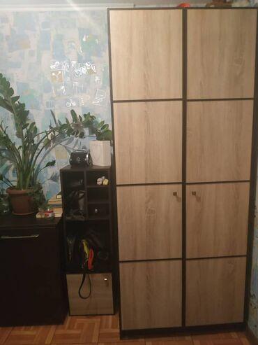 Шкаф: размеры 60см*219см, материал ЛДСП, состояние отличное   Полка п