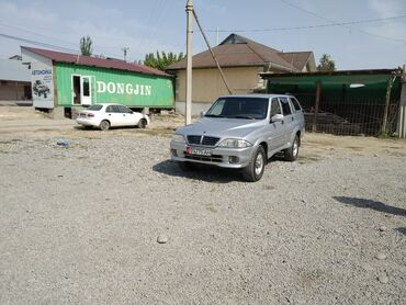 Ssangyong - Кыргызстан: Ssangyong Musso 2.9 л. 2005 | 177 км