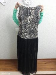 вечернее платье в горошек в Кыргызстан: Вечернее платье, размер 44-46, новое