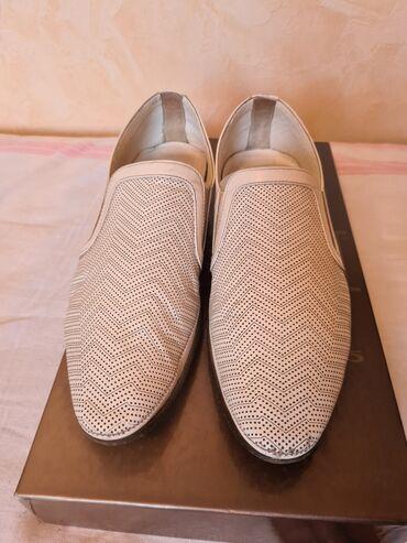 Мужские туфли на лето Luigi Traini, Италия  Размер 38 (большемерят)