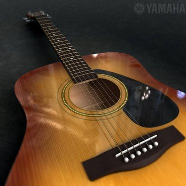 акустические гитары yamaha  в Бишкек