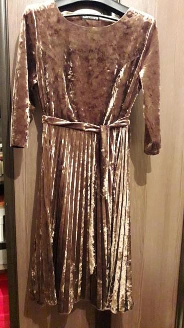 платье бархатное в Кыргызстан: Платье бархатное новое, вечернее. размер 50
