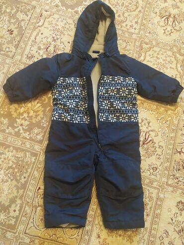 детская осенняя одежда в Кыргызстан: Продаю детский комбинезон на флисе весна осень можно и сейчас размер