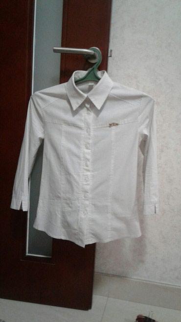 Белая рубашка с маленькими в Бишкек