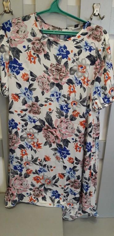Платье.44-46 размер. шёлк.укороченое впереди.  в Бишкек