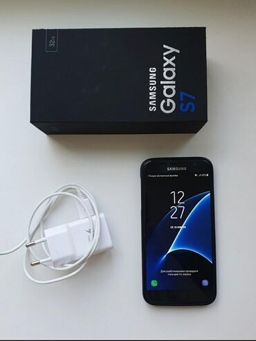 Б/у Samsung Galaxy S7 32 ГБ Черный