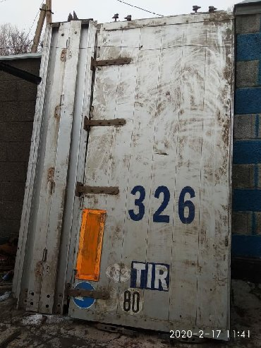 механизмы для ворот в Кыргызстан: Ворота на полуприцеп со стойками и механизмы