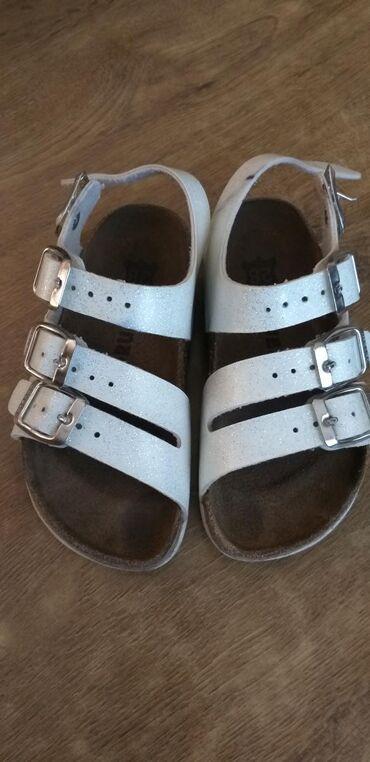 Grubinove sandalice za devojcice br 28,obuvene par puta,bez ostecenja