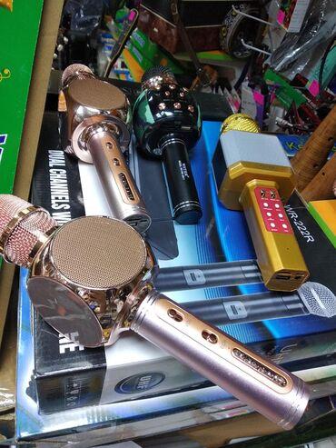 Mikrafon karaoke Yeni  &-___RK GROUP Musiqi Alətləri Mağazası
