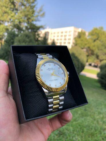 купить часы в бишкеке in Кыргызстан | АВТОЗАПЧАСТИ: Rolex4 нержавеющей стали !! Удобно для рук!  Кварцевый механизм  инди