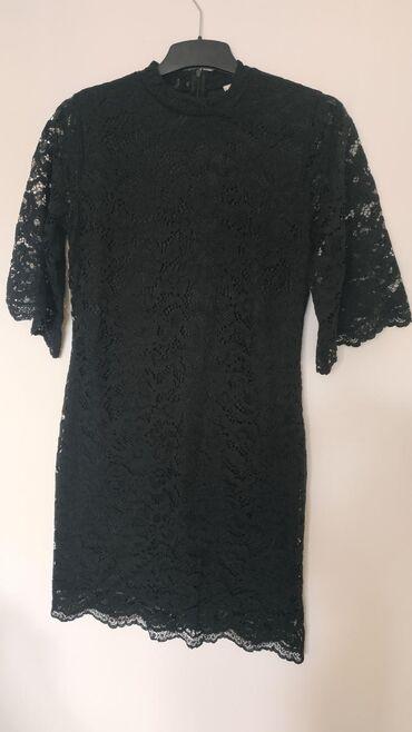 Ženska odeća   Nis: Koton čipkana haljina, nošena samo jednom. Veličina XL. Dužina 98cm