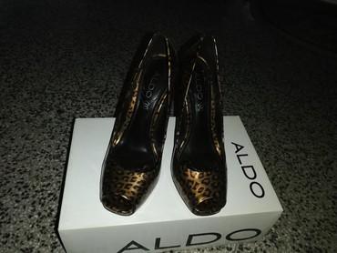 Elegantne cipele, leopard dezen, broj 38, Aldo, ima i torbica u