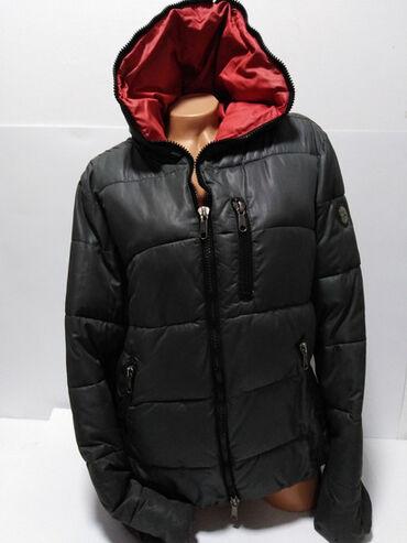Preko grudi - Srbija: GUESS vrhunska original jakna sa velikom kapuljačom,(za