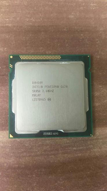 процессоры 2 1 2 5 ггц в Кыргызстан: Продается процессор intel pentium G620 2.6HZL227B4652.6 ГГц ✔2-ядерный