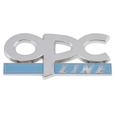 Samolepljiva metalna pločica OPC - Opel Performance Center - Zrenjanin