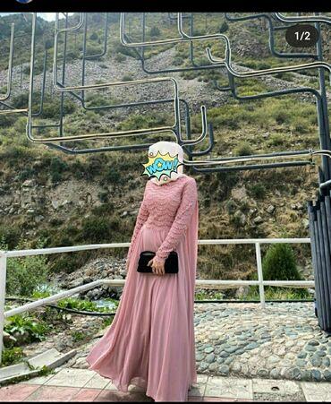 платье из штапеля большого размера в Кыргызстан: Продаю платье! Надевала лишь 1 раз. Производство Турция. Довольно