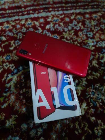 Samsung - Кыргызстан: Самсунг а10с Дубай 2 симка 32гб памят Цвет красная состояние хорошее