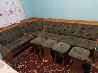 Срочно продаю кухонный уголок б-у без в Бишкек