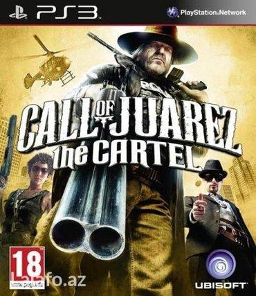Bakı şəhərində Call of juarez the cartel для ps3
