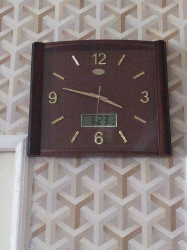Антикварные часы - Азербайджан: İşlənmiş.teze kimi saat . aşağı hissede elektron saatayin tarixi