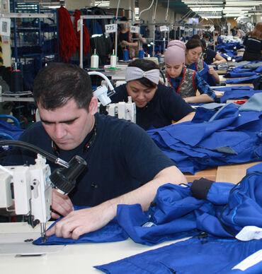 РАБОТА В РОССИИ В г. МОСКВА! Крупному швейному предприятию по пошиву с