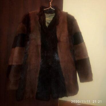 летнее платье 52 размера в Кыргызстан: Женская шуба, из натурального меха Нутрии, размер 50-52. За