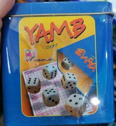 YAMB igrica.-set.Kontakt 064~484~33~40Ako zelite da porucite ostavite