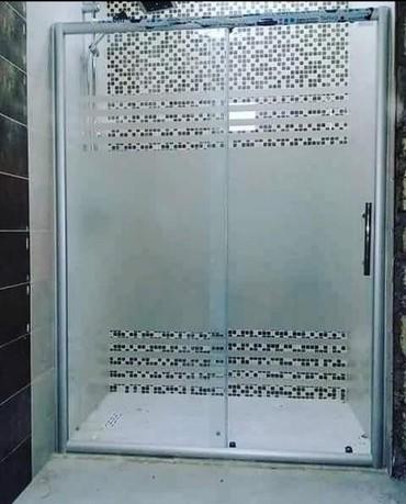 Duş kabin ara kesmeler hazirlanir sifarişle