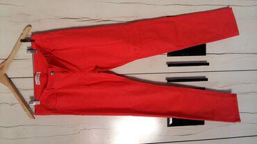 Летние женские брюки, цвета фуксии, новые не ношенные, размер 48, тор