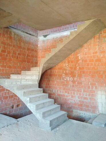 Лестница жазайм. Монолитный лестница
