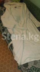 Махровый халат белого цвета размер в Бишкек