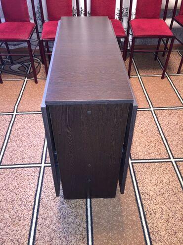 Стол книжка высота 75,длина 1.5,ширина 90,новый в наличии 2 цена 3500
