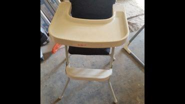 Ljuljaska i stolica za hranjenje u dobrom stanju.sve je od metala - Novi Sad