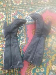 Женская обувь в Шопоков: Продаю кожаные зимние   сапоги, состояние хорошее